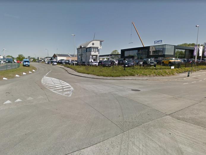 Het kruispunt Kolvestraat met Monnikenwerve.