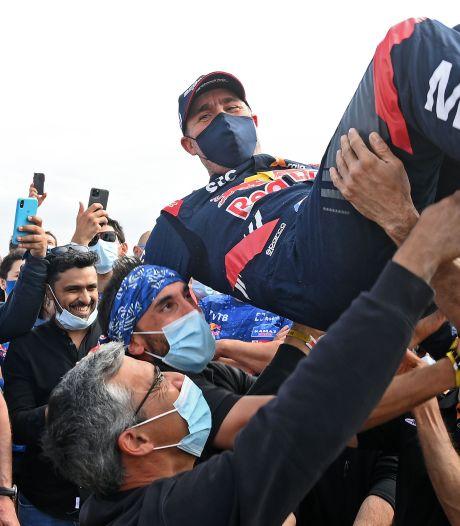 Veertiende zege Peterhansel, Dakar Rally eist weer leven motorcoureur, Spierings 26ste, ritzege Rosegaar