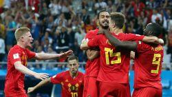 Duivels in onwaarschijnlijke thriller van 0-2 naar 3-2 en in kwartfinale tegen Brazilië