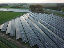 Roosendaals eerste zonnepark in vogelvlucht