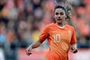 Daniëlle van de Donk speelt in Eindhoven haar 89ste interland.
