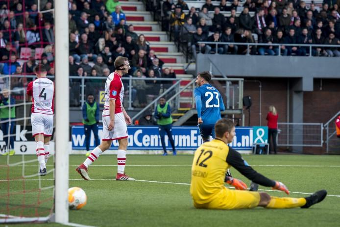 Feyenoord heeft gescoord.