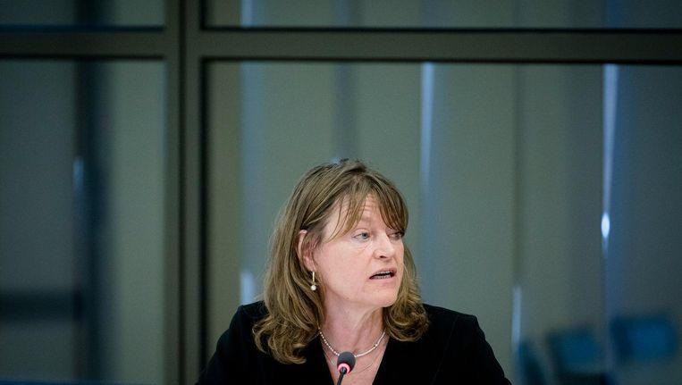 'Dit kan niet en dit mag niet,' zegt Kinderombudsman Margrite Kalverboer Beeld anp