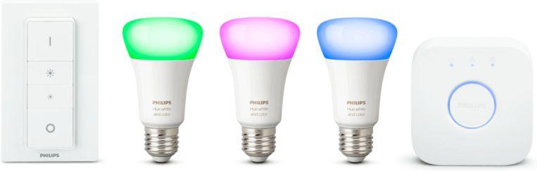 Philips' Hue-lampen kunnen wonderen doen om het huis vanop een afstand 'bewoond' te doen lijken.
