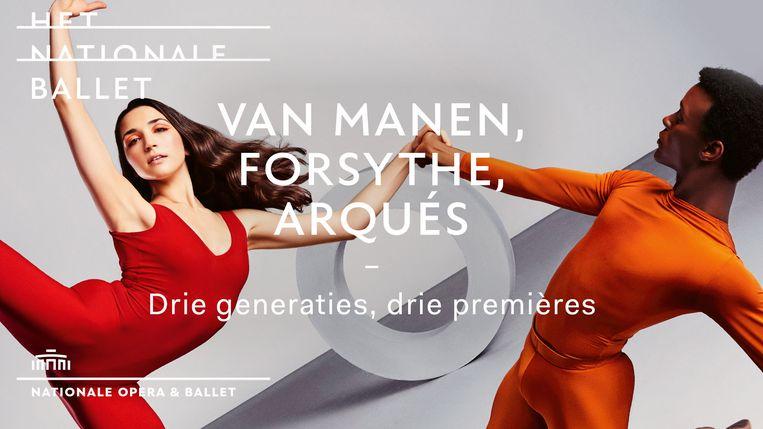 Van Manen, Forsythe, Arqués Beeld Nationale Opera & Ballet