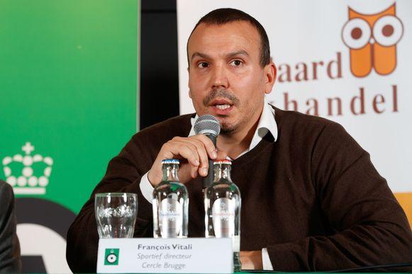 François Vitali was sinds de zomer van 2017 bij Cercle aan de slag.