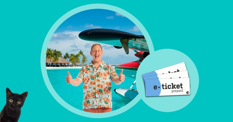 Maak kans op een van de 300 EuroMillions e-tickets.