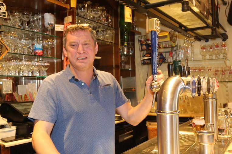 Werner runt al 17 jaar Den Aflaat op de Veemarkt