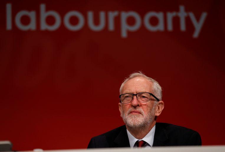 Partijleider Jeremy Corbyn.
