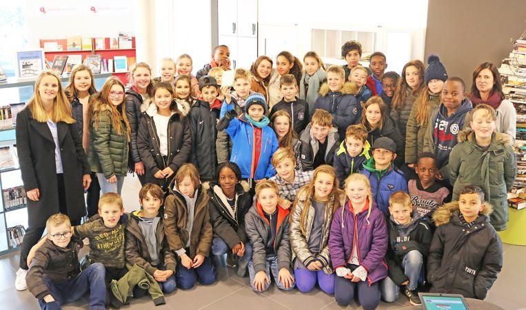 TERNAT: Leerlingen van het vijfde en zesde jaar van gemeenschapsschool Horizon in Ternat