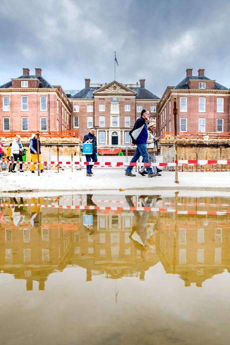 Fascinerend: kijken in de bouwput van Paleis Het Loo in Apeldoorn