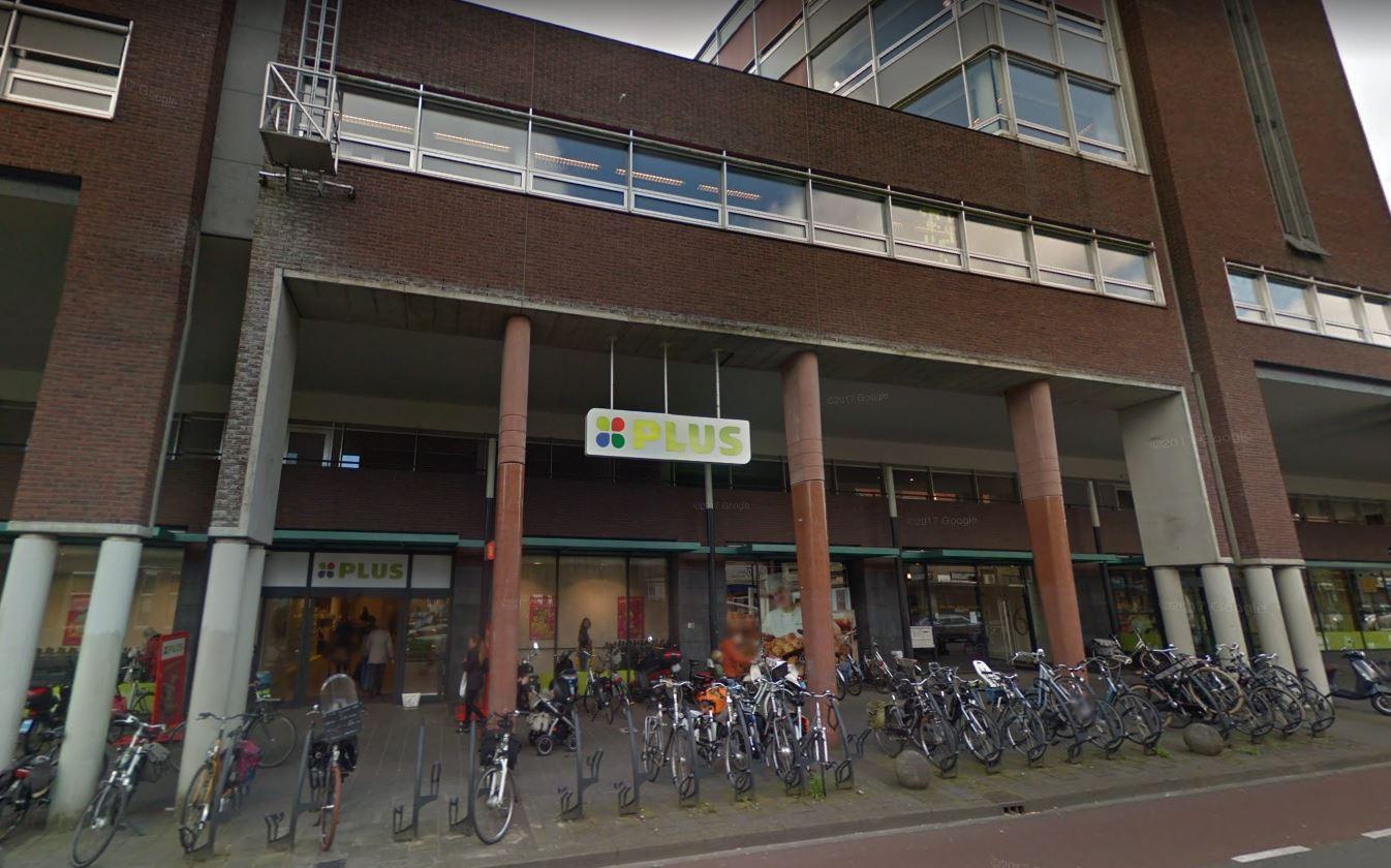 Plus-supermarkt aan de Arnhemseweg in Amersfoort.