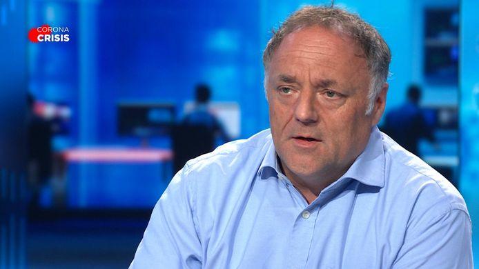 Marc Van Ranst in VTM NIEUWS.