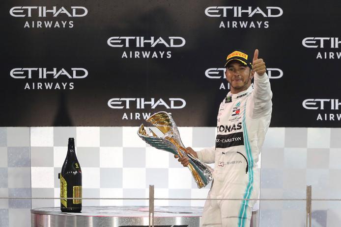 Nouvelle victoire pour Lewis Hamilton.