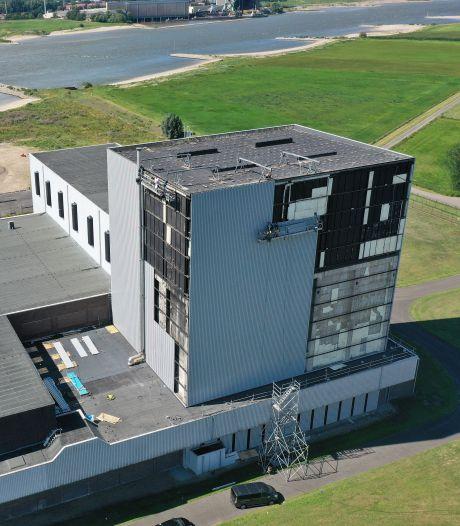Kerncentrale Dodewaard in de steigers