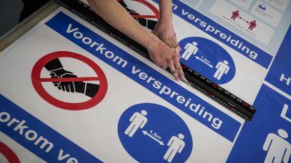 85 procent gecontroleerde bedrijven respecteert social distancing niet
