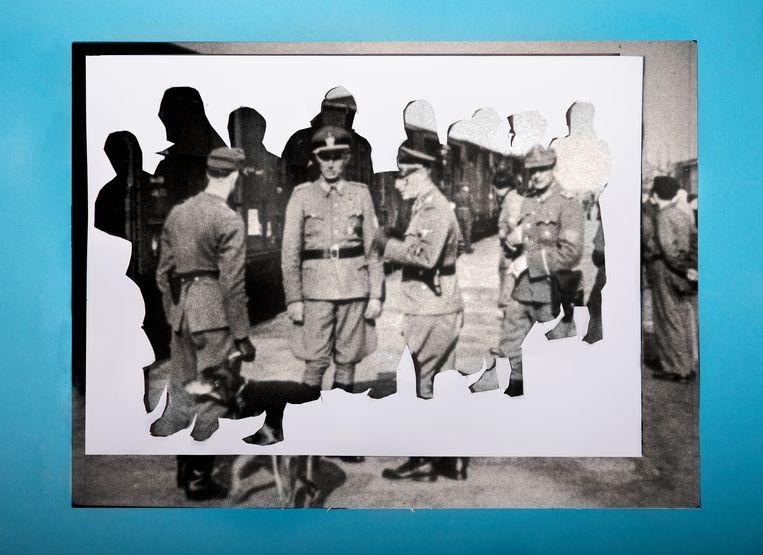 null Beeld Archief Herinneringscentrum Kamp Westerbork/NIOD / bewerking Antonia Hrastar.