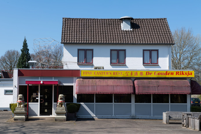 Het pand van De Gouden Riksja in Nijverdal is opnieuw te koop gezet.