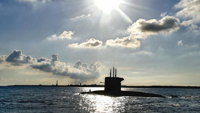 Een van de huidige Nederlandse onderzeeërs, de Zr.Ms. Bruinvis
