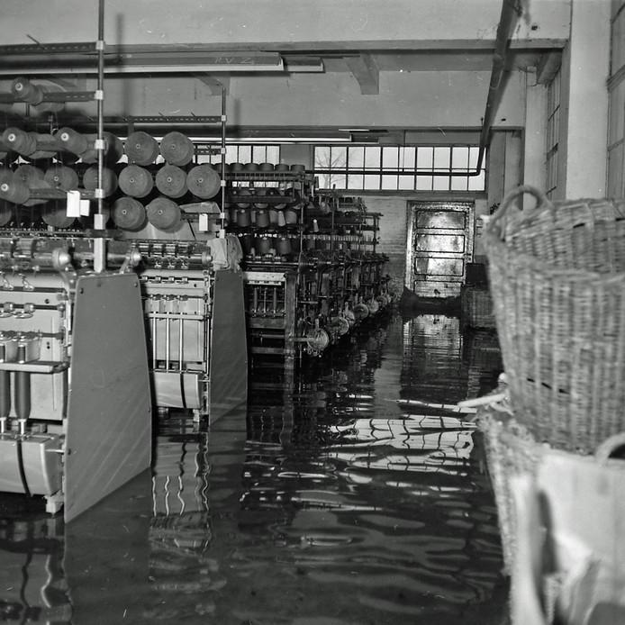 Ondergelopen fabriek in Geldrop