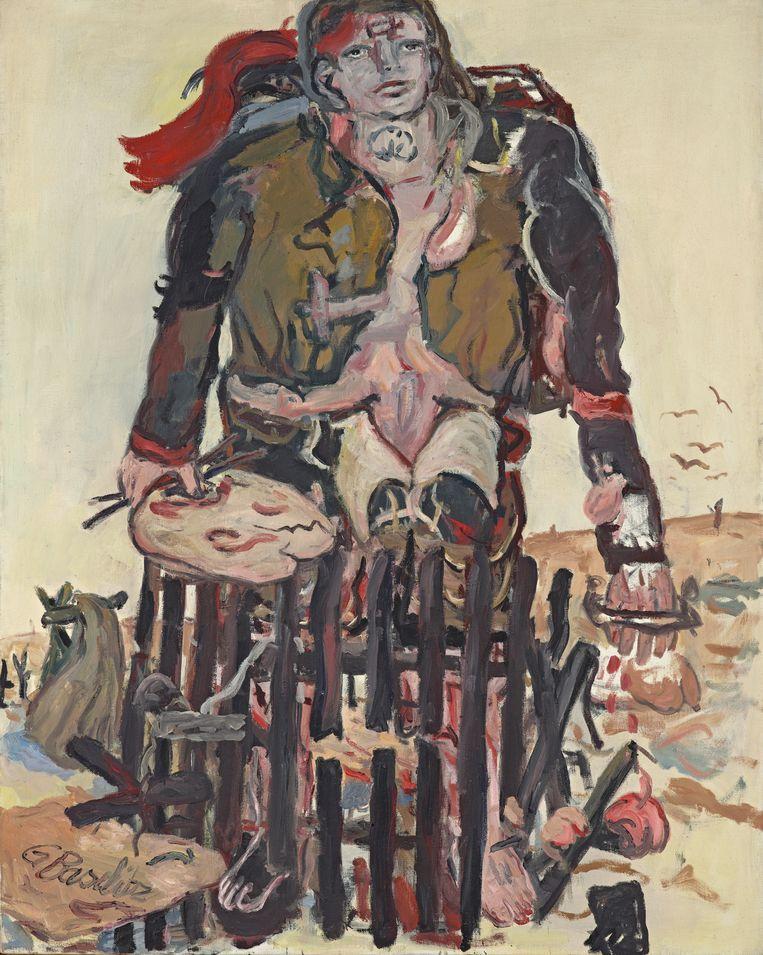 Georg Baselitz. Verschiedene Zeichen, 1965. Beeld Georg Baselitz