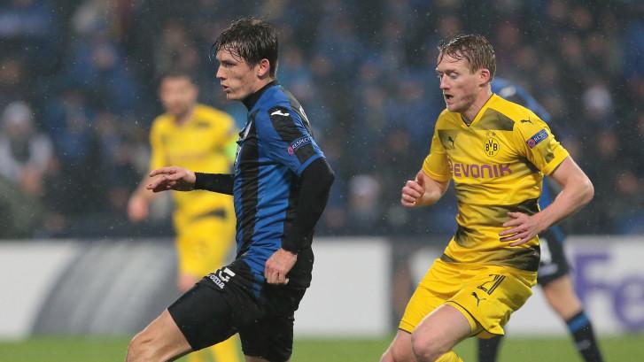De Roon en Hateboer net ten onder tegen Dortmund