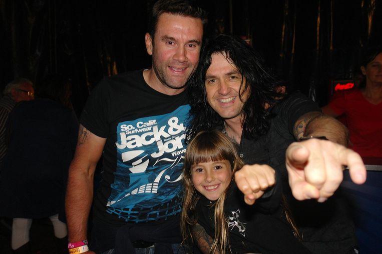 Serge Baguet met jeugdvriend Franky De Smet-Van Damme, de frontman van Channel Zero.