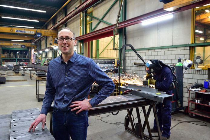 Johan Goudriaan van Goudriaan Staalconstructies: ,,Wij denken altijd in kilo's .''
