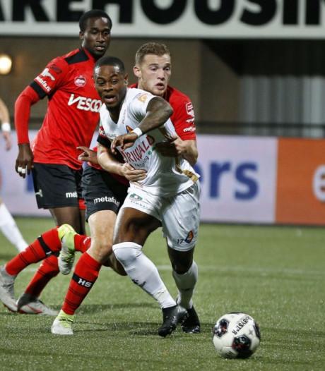 Helmond Sport-verdediger Jeroen Verkennis voor één duel geschorst na rode kaart tegen Telstar