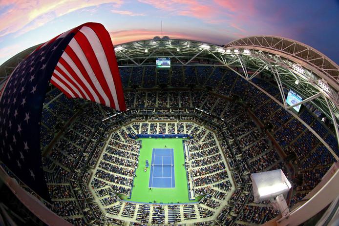 Le gigantesque court Arthur Ashe, le Central de l'US Open.