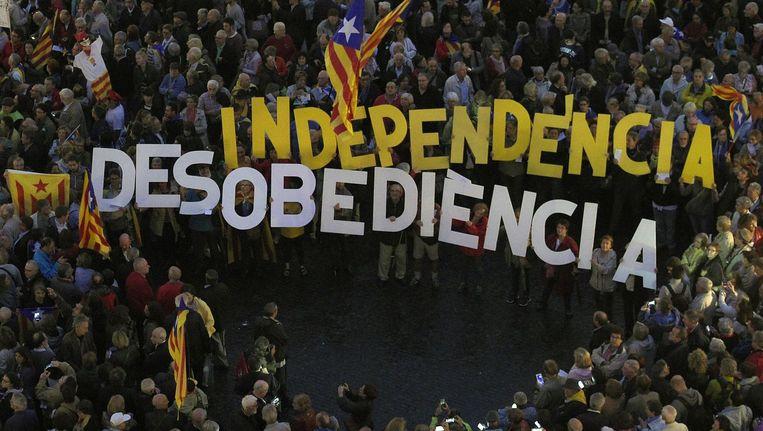 'Onafhankelijkheid en ongehoorzaamheid'. Beeld null