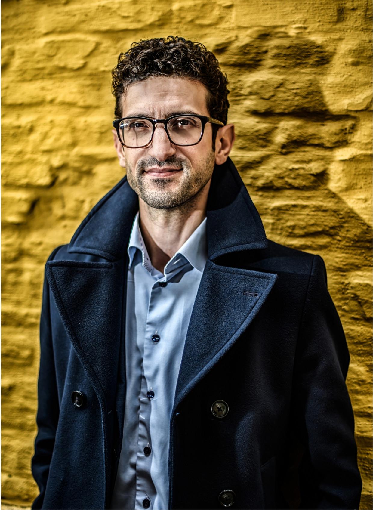 'Het CLB ging ervan uit dat ik nooit verder zou springen dan mijn ouders, ondanks al mijn goede rapporten' Beeld Geert Van de Velde