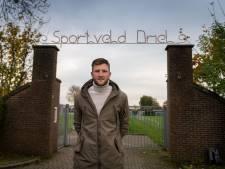 De 'Dirk Kuijt van Driel' is tevreden terug in de spits