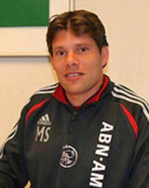 Ajax Cape Town-coach Maarten Stekelenburg.
