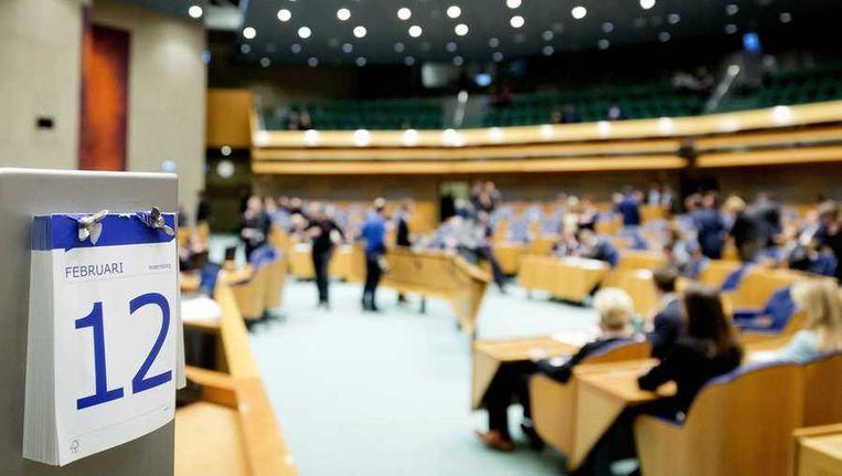 De Tweede Kamer, vorige week. Beeld anp
