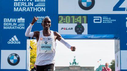 """Kersvers wereldrecordhouder op de marathon spreekt: """"Ik had wel verwacht dat ik het record zou lopen, maar niet zó snel"""""""