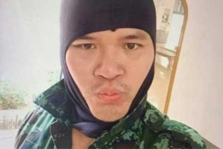 De Thaise soldaat die het vuur opende in Korat.