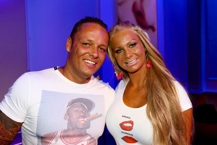 Michael en Samantha in 2013.