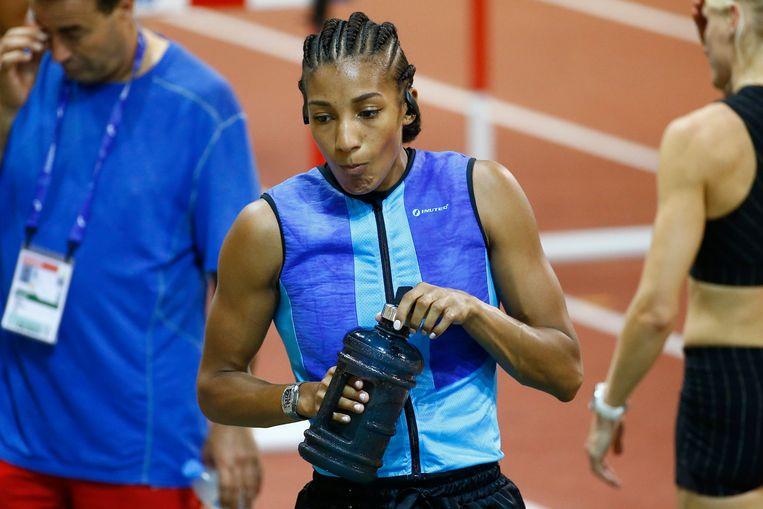 Nafissatou Thiam in Qatar.