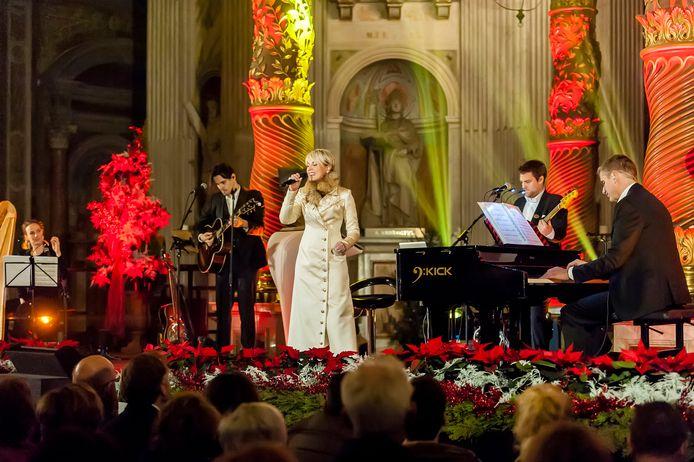 Dana Winner kwam vier jaar geleden in basiliek nog een kerstconcert geven voor het goede doel.