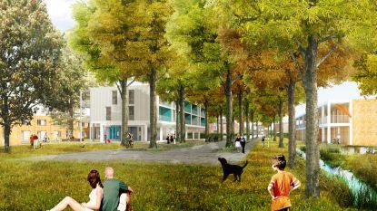 Eerste spade de grond in voor nieuwe sociale woonwijk