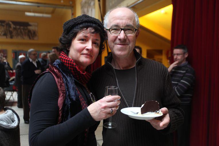 Raymond Van Het Groenewoud en Sigrid Spruyt tien jaar geleden.