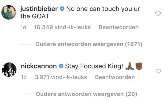 Bieber en Cannon reageren op een video van Chris Brown waarin hij aangeeft weer aan het werk te zijn na zijn arrestatie