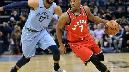VIDEO. Toronto boekt tegen Memphis 18de seizoenszege, zware nederlaag voor James en Lakers