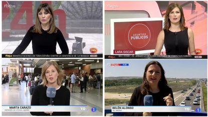 Zwarte Vrijdag: protest tegen politieke censuur en seksisme op Spaanse openbare omroep neemt toe