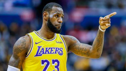 """Michael Jordan of LeBron James? Die laatste is zeker van z'n stuk: """"Ik ben de grootste basketballer ooit"""""""
