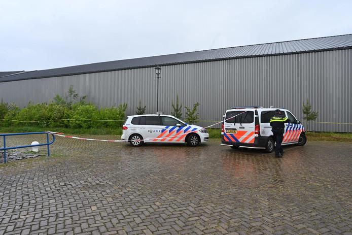 Drugslab op boot gevonden in Moerdijk.