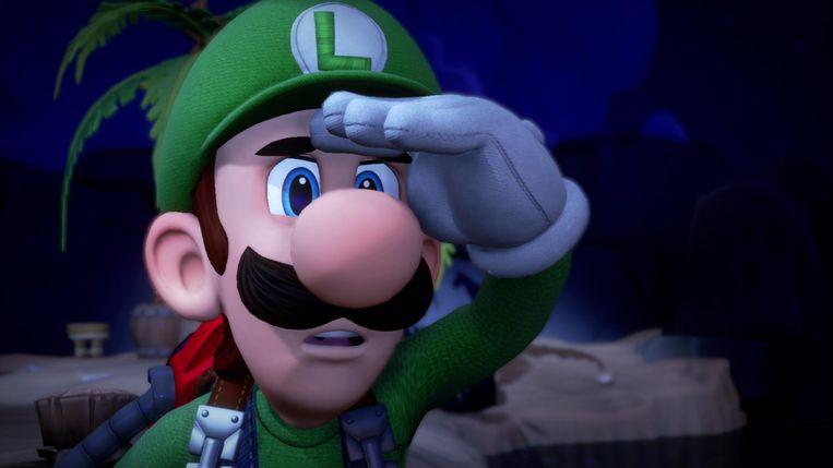 Beeld uit Luigi's Mansion 3