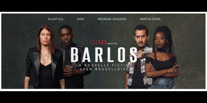Jill Vandermeulen (RTL), Kody (Grand Cactus), Mourade Zeguendi (Les Barons) et Martha Da'ro (le film Black) au casting de Barlos.