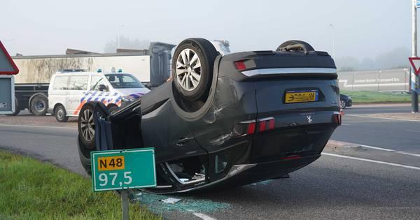 Files ochtendspits op N50, A1 en A28 opgelost; wel verkeershinder door ongelukken bij Ommen en Kampen.